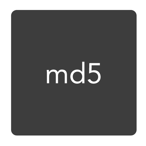 MD5 checksum support